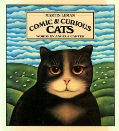 book cover: Comic and Curious Cats